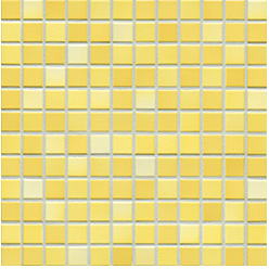 Jasba Frech Secura sunshine yellow-mix JA-41315 H Mosaik 2x2 32x32 natural R10