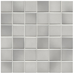 Jasba Frech Secura light gray-mix JA-41403 H Mosaik 5x5 32x32 natural R10