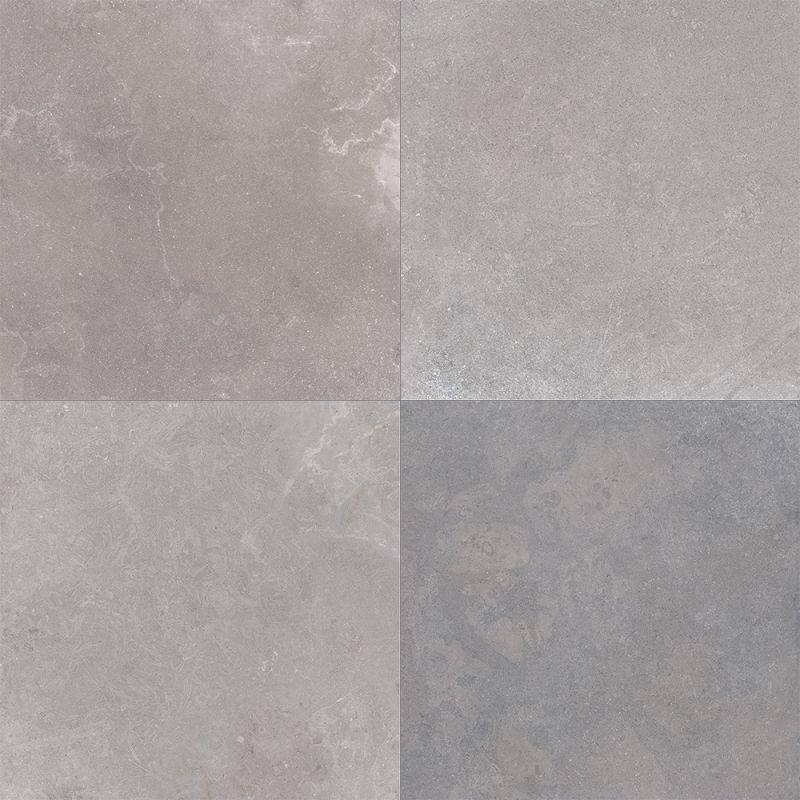 Flaviker  NO.W gray NO4822R Wand- / Bodenfliese 40x80 matt
