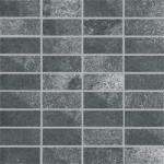 Villeroy & Boch Fire and Ice steel grey VB-2411 MT20  Mosaik 3,5x7,5 30x30 matt R9 A