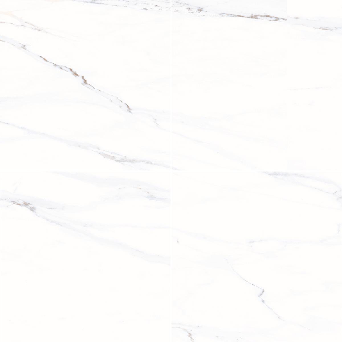 Cinque Marmi Creme/Weiss Boden-/Wandfliese 60x60 POLIERT