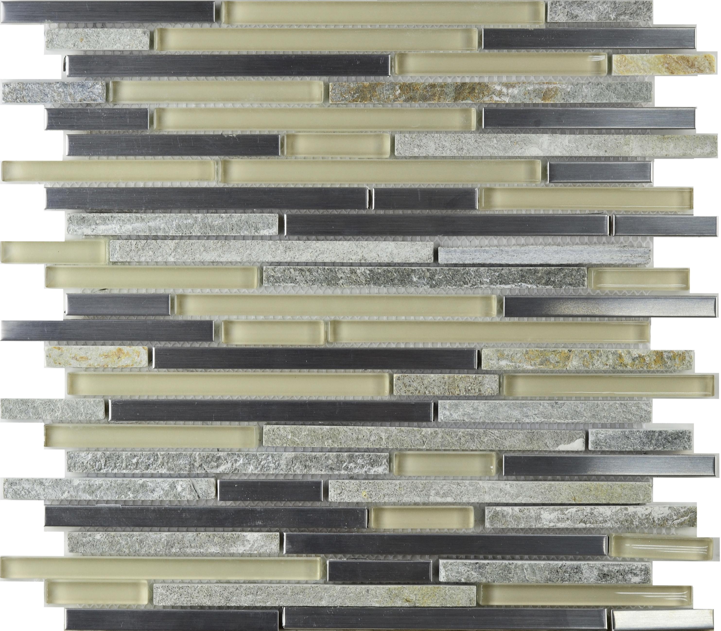Cinque Glana Grau/beige be-PMLK180 Mosaik 30x30