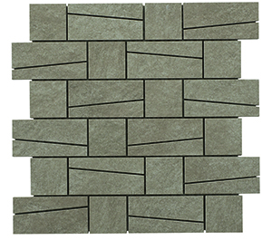 Engers You taupe EN-YOU1435 Mosaik 33x33 Matt