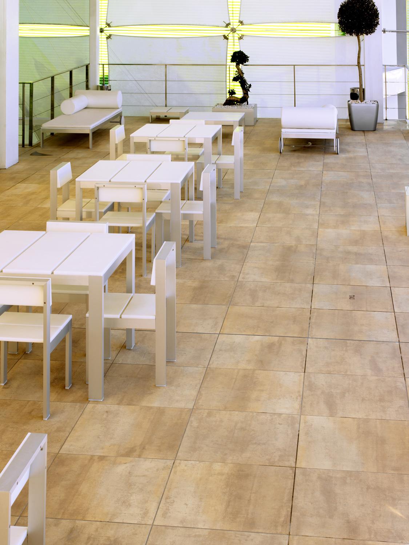 Tau Ceramica Corten Beige 60x120 Boden-/Wandfliese Glänzend