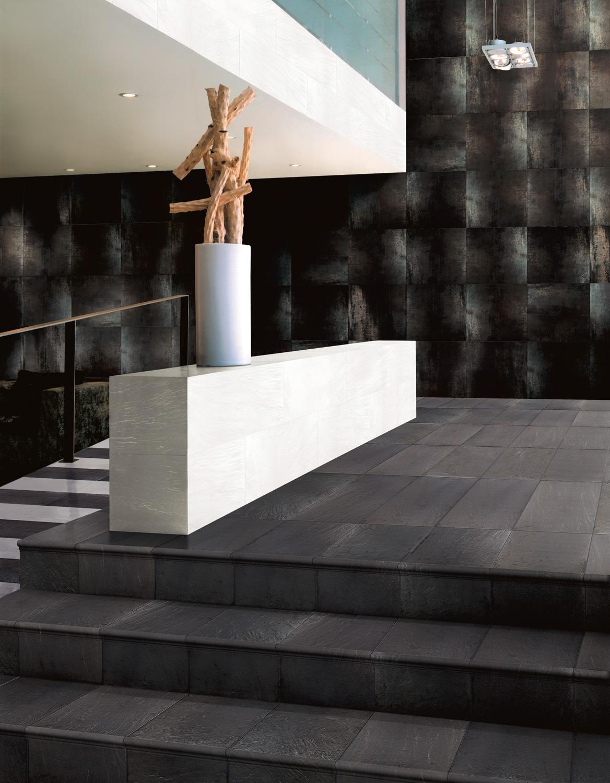 Tau Ceramica Corten Corten B 60x120 Boden/Wandfliese Glänzend