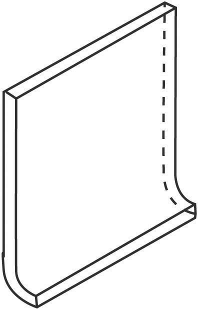 Villeroy und Boch Pro Architectura türkis medium 2072 PN87 0 Hohlkehlsockel 10x10 matt