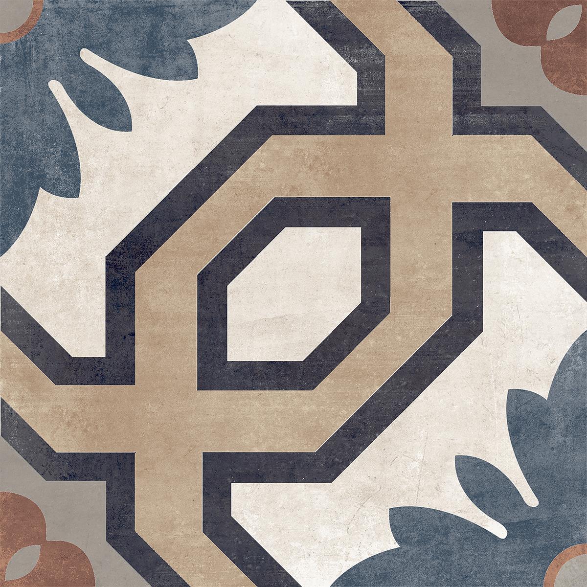Del Conca London Nothimg Hill--Dekorfliese20LD00NHA 20x20 MATT Boden-/Wandfliese