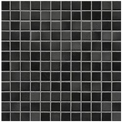 Jasba Fresh midnight black-mix JA-41205 H Mosaik 2x2 32x32 glänzend