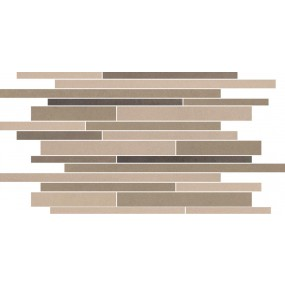Villeroy und Boch Pure Line brown multicolour 2688 PL82 5 Dekor 30x50 matt