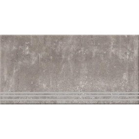 Steuler Urban Culture taupe St-n-Y75206001 Treppenstufe links 33x75 matt
