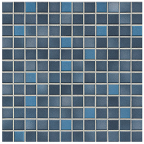 Jasba Frech Secura midnight blue-mix JA-41309 H Mosaik 2x2 32x32 natural R10