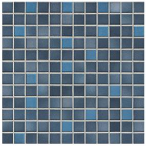 Jasba Frech Secura midnight blue-mix JA-41309 H Mosaik 2x2 32x32 natural R10