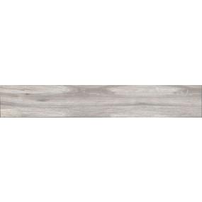 Cinque Wood Boden-/Wandfliese Grau 19,2 x120 Poliert