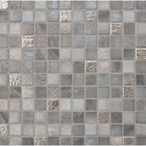 Jasba TRACES Mosaik Lavagrau-Mix 40125