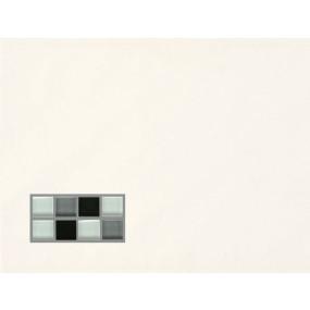Villeroy und Boch Smart white 1149 BK9G 0 Dekor 25x33 glänzend