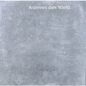 Cinque Ardennes Dunkelgrau 90x90x2 Terrassenplatte Matt