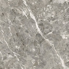 TAU Ceramica Belcastel Boden/Wandfliese Grau 90x90 matt