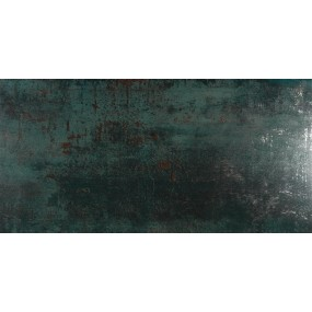 TAU Ceramica Metal Boden/Wandfliese Grün 30x60 Lappato