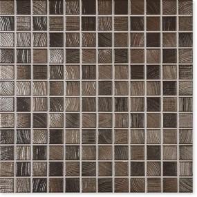 Jasba Senja Pure wenge-metallic JA-3227H Mosaik 2,4x2,4 30x30 matt