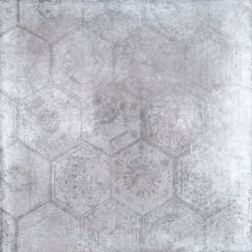 Porcelaingres Soft Concrete Iron HEXAGON X606325X8 Boden-/Wandfliese 60x60 MATT
