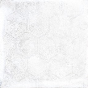 Porcelaingres Soft Concrete White HEXAGON X606320X8 Boden-/Wandfliese 60x60 MATT
