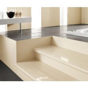 Venatto Polished Stufenverblender Blanco Perla 15x120 cm