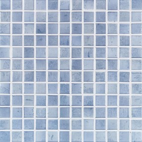 Jasba Paso taubenblau JA-3144H Mosaik 2,4x2,4 30x30 Secura R10/B