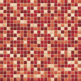 Jasba Lavita abendrot-Mix JA-3666H Mosaik 1,2x1,2 30x30 matt-glänzend