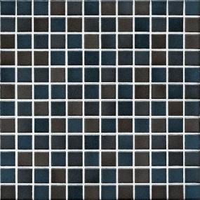 Jasba Lavita graphitschwarz JA-3607H Mosaik 2,4x2,4 30x30 matt-glänzend