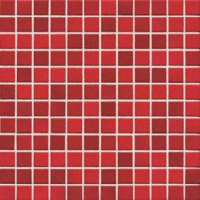 Jasba Lavita kirschrot JA-3626H Mosaik 2,4x2,4 30x30 Secura R10/B