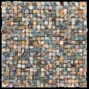 Del Conca Corti di Canepa Bunt DEL-SIG-Mix-MO Mosaik 30x30 glänzend