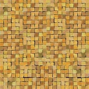 Del Conca Corti di Canepa Giallo DEL-GLA-Ocra-MO Mosaik 30x30 glänzend