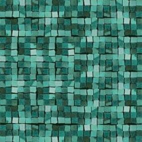 Del Conca Corti di Canepa Aquamarina DEL-GLA-Mare-MO Mosaik 30x30 glänzend