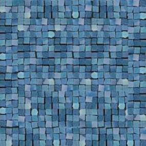 Del Conca Corti di Canepa Blu DEL-GLA-BLU-MO Mosaik 30x30 glänzend