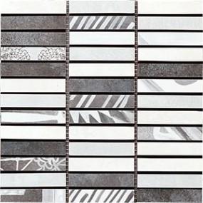 Del Conca Portland Grigio DEL-PL27-MO Mosaik 20x20 matt