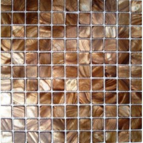 Shell Mosaik 2,5x2,5 brown FP-BK-13 30x30