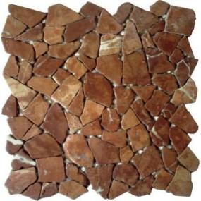 Naturstein Polygonal rosso verona FP-PolyF 30x30