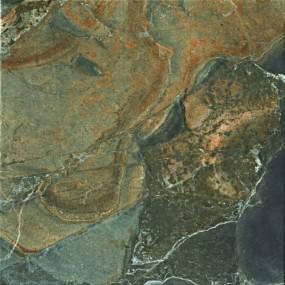 Unicom Starker Natural Slate multicolor UNI-4033  Bodenfliese 45x45 geschiefert