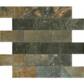 Unicom Starker Natural Slate multicolor UNI-4018  Mosaik Brick 30x30 geschiefert