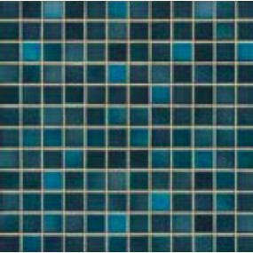 Jasba Fresh midnight blue-mix JA-41209 H Mosaik 2x2 32x32 glänzend