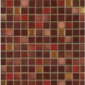 Jasba Fresh mystic red-mix JA-41513 Mosaik 2x2 32x32 glänzend metallic