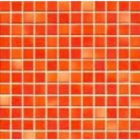 Jasba Frech Secura coral red-mix JA-41312 H Mosaik 2x2 32x32 natural R10
