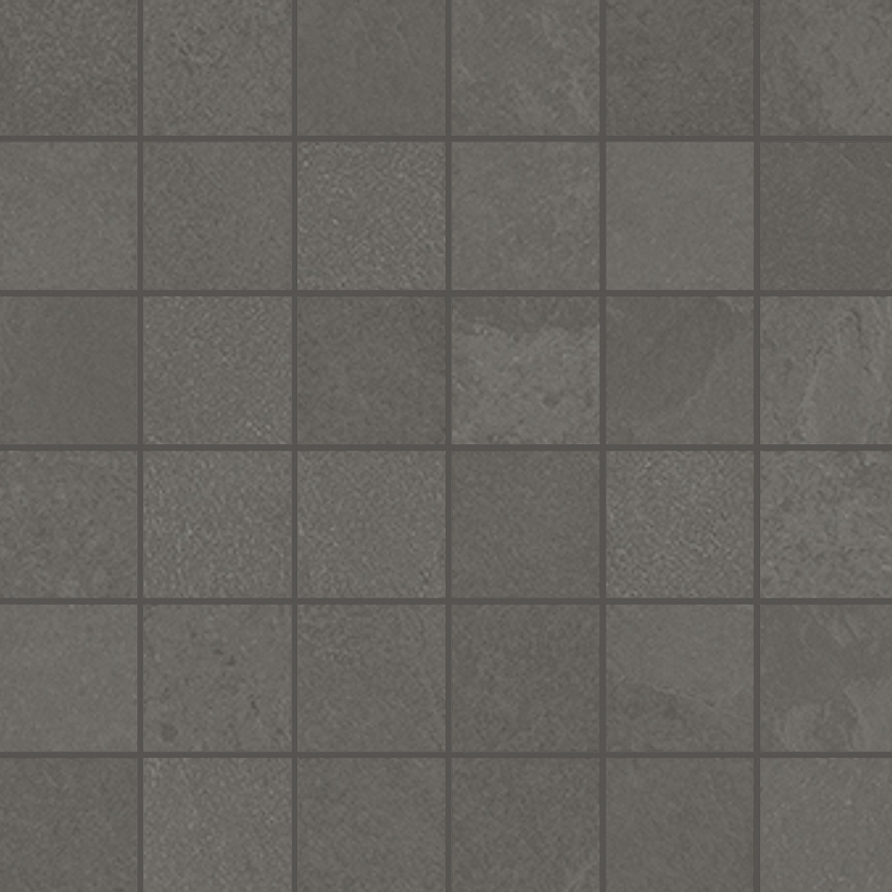 Unicom Starker BRAZILIAN SLATE Elephant Grey UNI-0008483 Mosaik 30x30 Matt