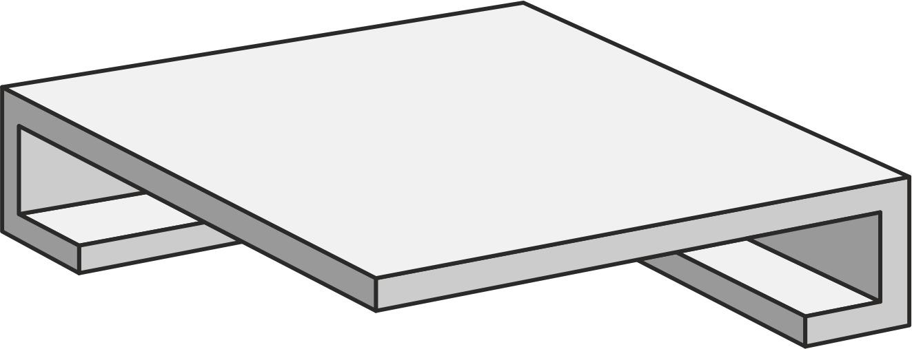Unicom Starker DEBRIS CINDER GRADON.ANG.C/R UNI-0008190 Bodenfliese 30x30 Matt