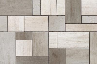 Engers Shabby Wood farbmix EN-SHA1522 Mosaik 33x50 Matt