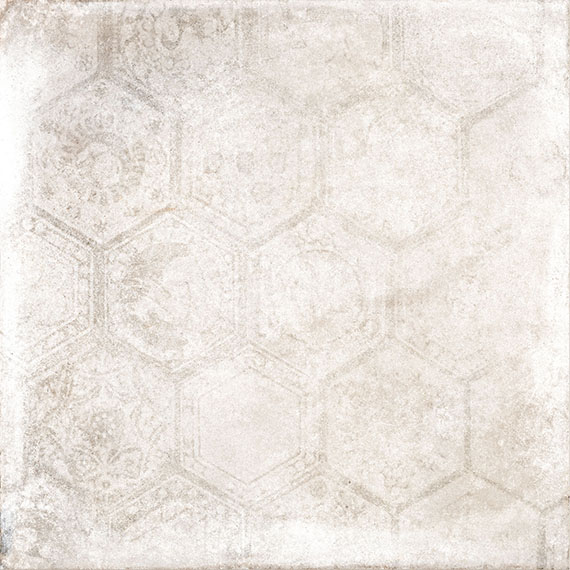 Porcelaingres Soft Concrete Brown HEXAGON X606323X8 Boden-/Wandfliese 60x60 MATT