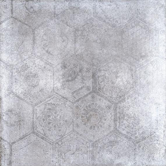 Porcelaingres Soft Concrete Iron HEXAGON X606325X8 Boden-/Wandfliese 60x60 MATT