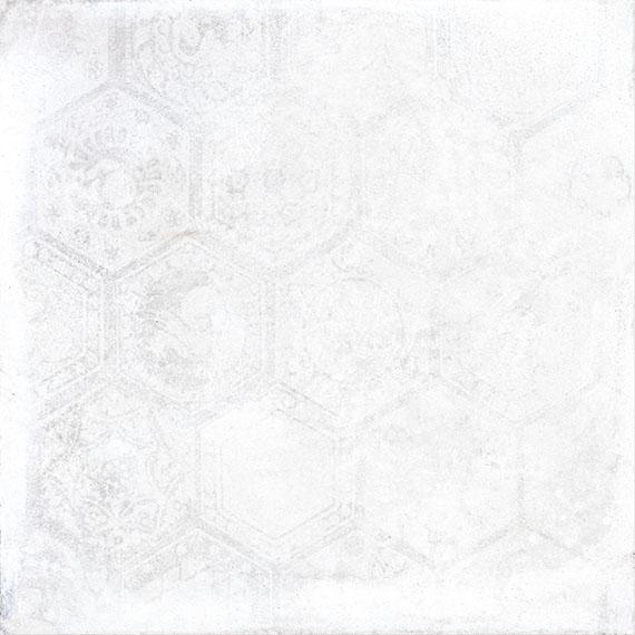 Porcelaingres Soft Concrete White HEXAGON X606320X8 Boden-/Wandfliese 60x60 MATT