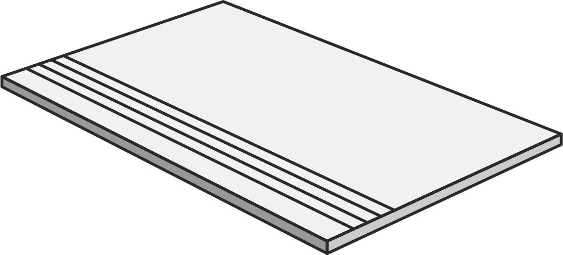 Unicom Starker DEBRIS TALC GRADINO UNI-0008180 Stufe 30x60 Matt