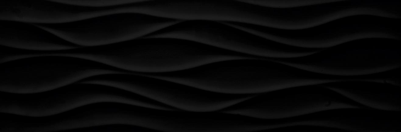 Tau Ceramica Sun brisa black Wandfliese 25x75 matt